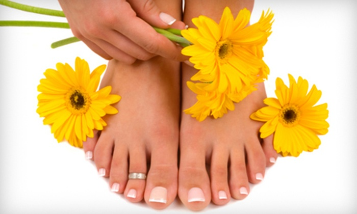 Salon Lux - Cranston: Special Occasion Spa Day or Reflexology Mani-Pedi Package at Salon Lux in Cranston (Up to 60% Off)