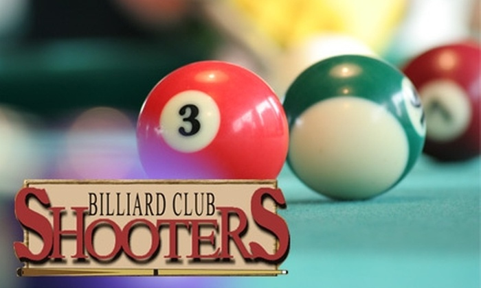 Shooters Billiard Club  - Minneapolis / St Paul: $10 for Two Hours of Billiards for Up to Four People at Shooters Billiard Club (Up to $32 value)