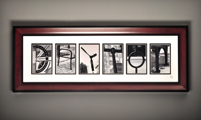 Life in Letters - Beavercreek: $25 for $50 Worth of Framed Artwork at Life in Letters in Beavercreek