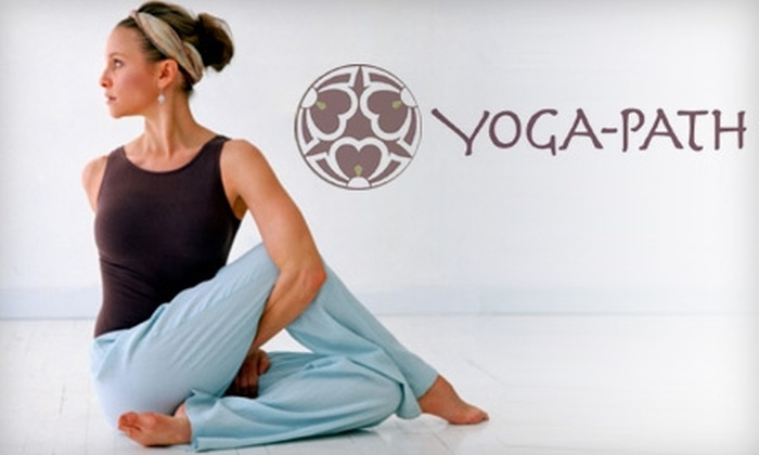 Yoga Path - Draper: $10 for Two Weeks of Unlimited Classes at Yoga Path in Draper ($25 Value)