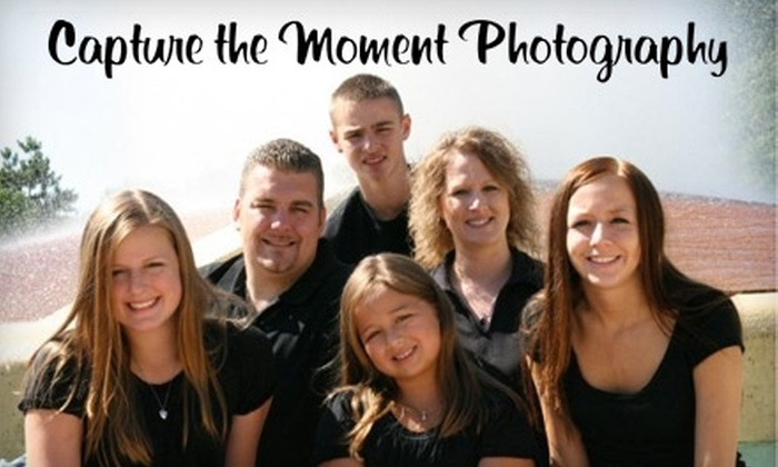 Capture The Moment Photography - Des Moines: $30 for a Photo Package at Capture the Moment Photography (a $105 value)