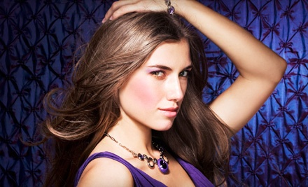 Haircare Package Including a Haircut and All-Over Colour or Full-Head Highlights - Platinum Hair Group in Calgary