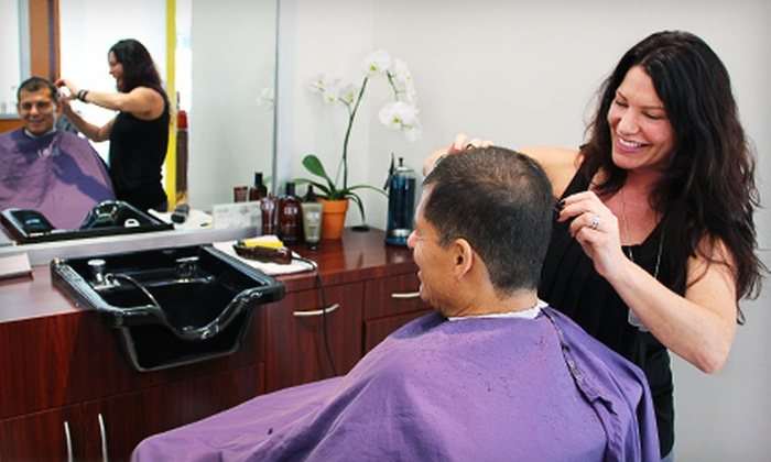 18|8 Men's Haircare and Grooming Center - Costa Mesa: $35 for Two Executive Haircuts at 18|8 Men's Haircare and Grooming Center in Costa Mesa (Up to $74 Value)
