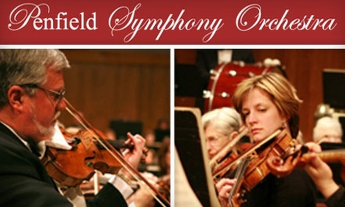Penfield Symphony Orchestra - Penfield: $7 for One Ticket to the Penfield Symphony Orchestra on October 25 (Up to $14 Value).