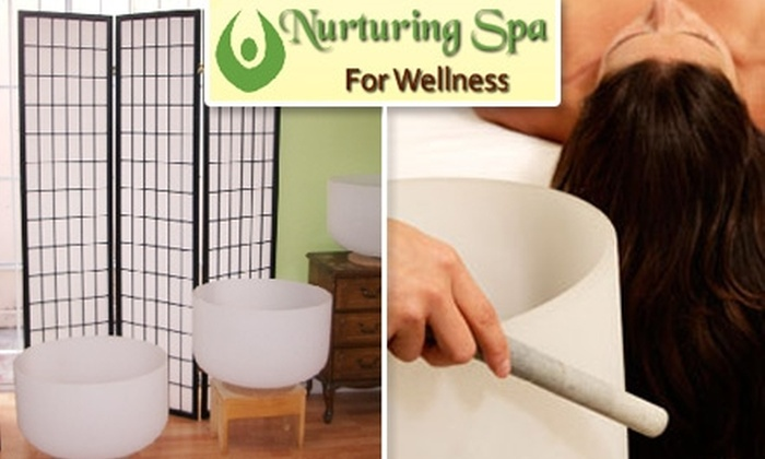 Nurturing Spa For Wellness - Cow Hollow: $35 for a One-Hour Singing-Bowl Therapy Session at Nurturing Spa for Wellness ($100 Value)