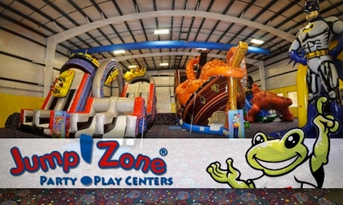 Jump!Zone Baltimore - Multiple Locations: $14 for A Six-Pass Card to Open Play Sessions at Jump!Zone. Choose from Two Locations (Up to $30 Value)