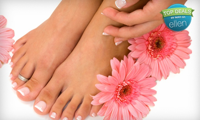 Salon Amarti - Old Town: Mani-Pedi or Women's Salon Package with Haircut, Style, and Color at Salon Amarti in Alexandria (Up to 61% Off)