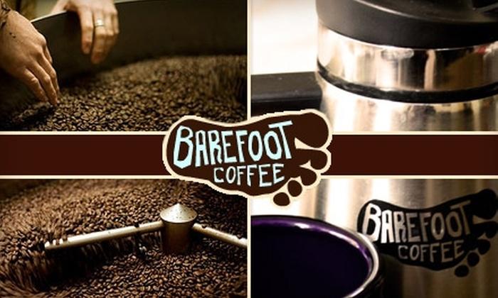 Barefoot Coffee - Santa Clara: $10 Gift Card to Barefoot Coffee Roasters