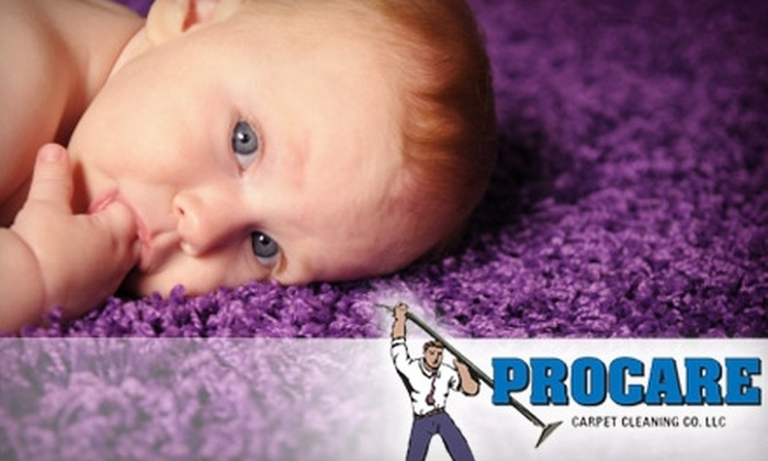 Procare Carpet Cleaning Company - Columbus: $39 for Carpet Cleaning for Two Rooms from Procare Carpet Cleaning Company ($99.90 Value)