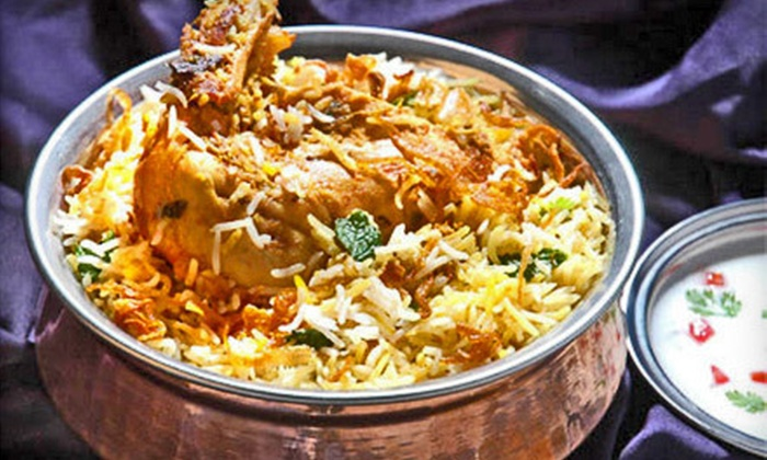 Masala - Medford Hillside: Three-Course Indian Cuisine Meal for Two or Four at Masala in Somerville (Up to 55% Off)