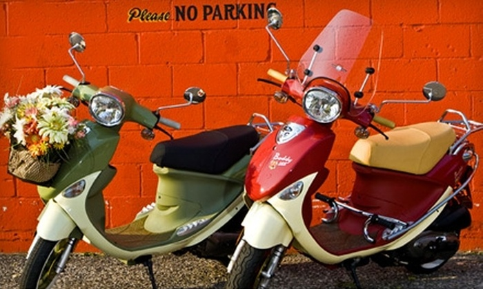 Scooter World - Downtown Overland Park: $2,300 for a Buddy 150 International Scooter at Scooter World in Overland Park ($3,199 Value)