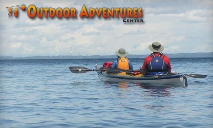 Outdoor Adventure Center - Sammamish Valley: Kayaking Trip from Outdoor Adventure Center. Choose from Three Options.