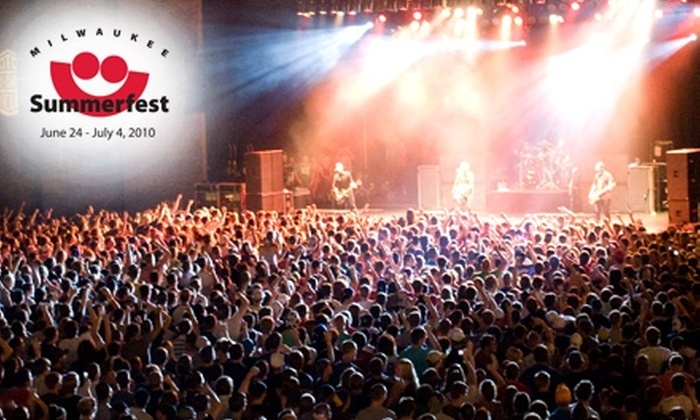 Summerfest - Historic Third Ward: $15 for Two General-Admission Tickets to Summerfest on June 24 ($30 Value)