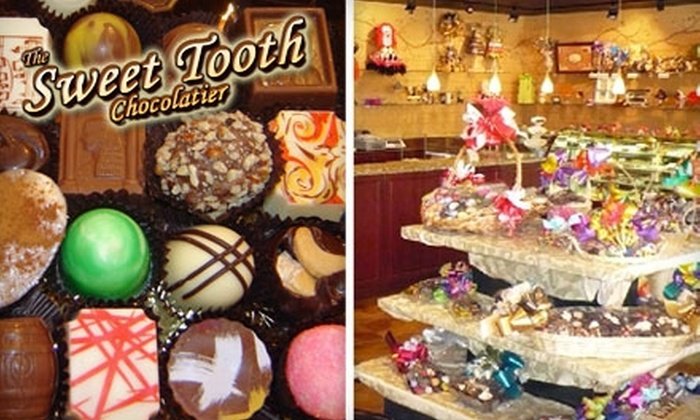 The Sweet Tooth Chocolatier - North Miami Beach: $25 for $50 Worth of Goodies and Gift Baskets at The Sweet Tooth Chocolatier