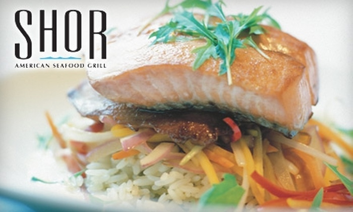 Shor American Seafood Grill - Clearwater: $20 for $40 Worth of Succulent Seafood and Drinks at Shor American Seafood Grill
