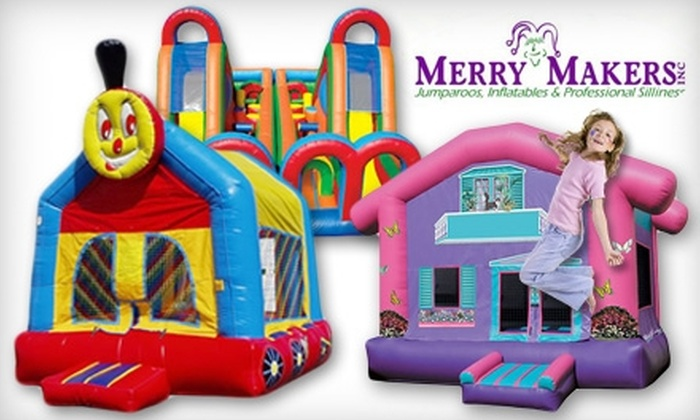 Merry Makers - Seattle: $89 for a Seven-Hour Jumparoo Bounce House Rental from Merry Makers ($179 Value)