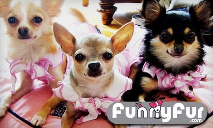 Funny Fur - Eldridge/ West Oaks: $20 for $40 Worth of Pet Merchandise at Funny Fur