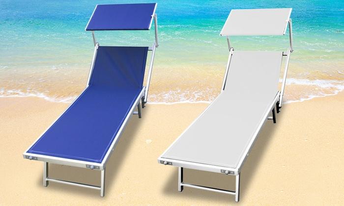 Lettino mare lusso groupon goods for Disegni da camera da spiaggia
