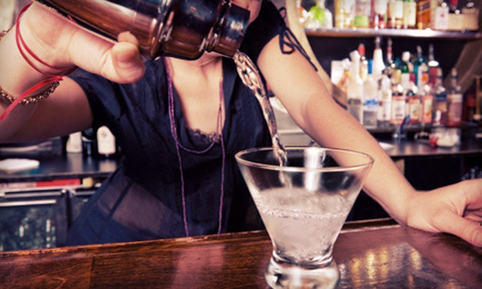 Authentic Bartending School - Koreatown: Three-Hour Mixology Seminar or a 16-Hour Bartending Course at Authentic Bartending School (Up to 76% Off)