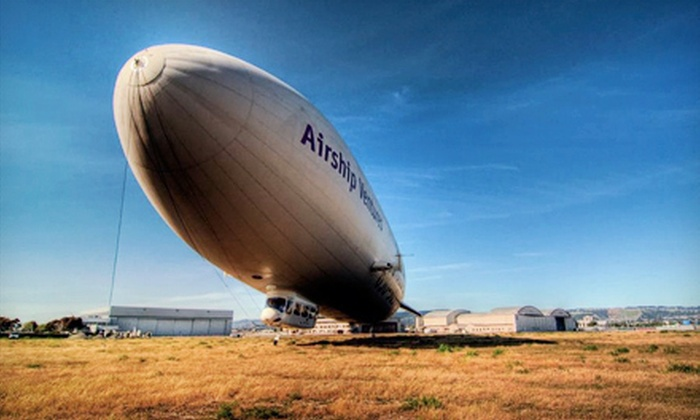 Airship Ventures - Multiple Locations: Ground Tour of the World's Largest Zeppelin for Two or Four from Airship Ventures (52% Off)