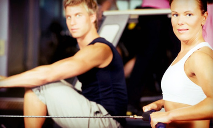 Raleigh Barbell - University: One or Two Groupons, Each Good for One Month of Unlimited Boot-Camp Classes at Raleigh Barbell (Up to 76% Off)