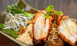 Silk & Spice- Sofitel Abu Dhabi Corniche: Four-Course Thai Meal with Optional House Beverages for One or Two at Silk & Spice, 5* Sofitel Hotel (Up to 66% Off)