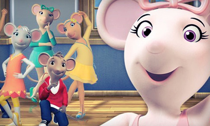 """""""Angelina Ballerina: The Musical"""" - Downtown: $39 for Four to See """"Angelina Ballerina: The Musical"""" at Music Hall Center on May 5 at 4 p.m. (Up to $108 Value)"""