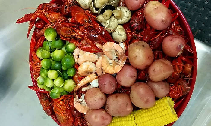 Comal Crawfish Company - New Braunfels: Crawfish, Appetizers, and Drinks for Two or Four at Comal Crawfish Company (Up to 42% Off)