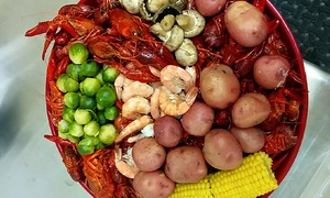 Comal Crawfish Company: Crawfish, Appetizers, and Drinks for Two or Four at Comal Crawfish Company (Up to 42% Off)