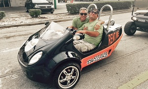 Fun Center: Two-Hour Scoot Coupe Rental for Two, Four, or Eight from Fun Center (Up to 35% Off)