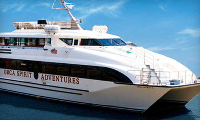 Orca Spirit Adventures - James Bay: Dinner Cruise for Two on Friday, September 28, or Saturday, September 22, with Orca Spirit Adventures (Half Off)