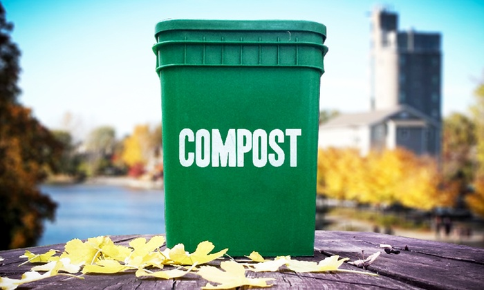 Community Composting - Rochester: $15 for One Month of Community Composting from Community Composting ($30 Value)