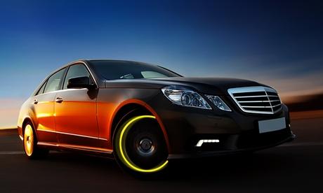 Set di luci LED per ruote di auto o bici con sensore di movimento. Vari colori disponibili