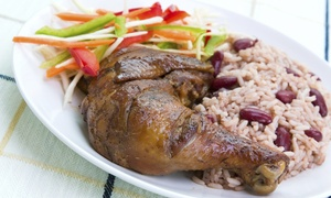 Rashe's Cuisine: Jamaican Food at Rashe's Cuisine (Up to 40% Off). Two Options Available.
