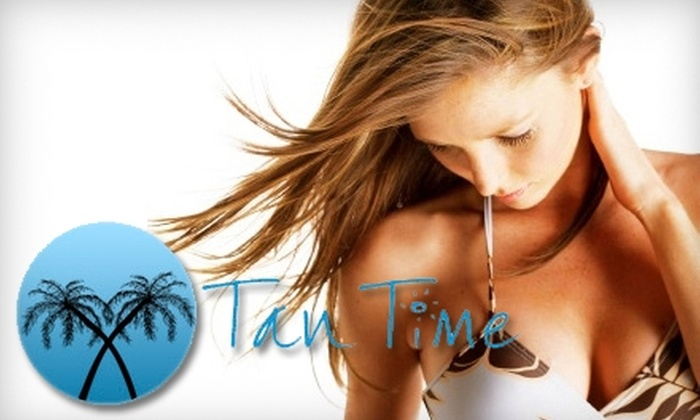 Tan Time - Mooresville: $37 for Two Spray Tans or Deep-Tissue Massage at Tan Time in Mooresville