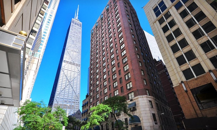Whitehall Hotel Near North Side One Night Stay For Two At The