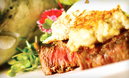 $50 Groupon to Red Gables Mesquite Grill - Red Gables Mesquite Grill in Sandusky