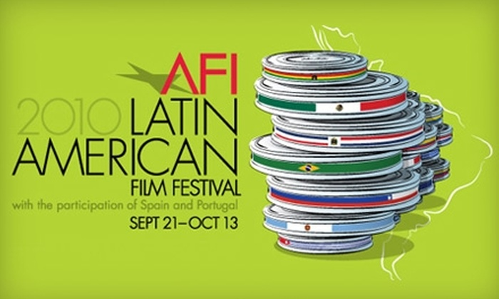AFI 2010 Latin American Film Festival - Silver Spring: $10 for Two Tickets to a Film Screening at the American Film Institute's 2010 Latin American Film Festival ($20 Value)