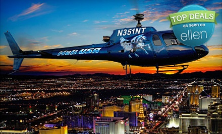 Heli USA Airways In Las Vegas Nevada  Groupon