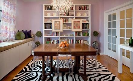 Choice of 1 Interior Design Class (an $80 value) - Affordable Interior Design in Manhattan