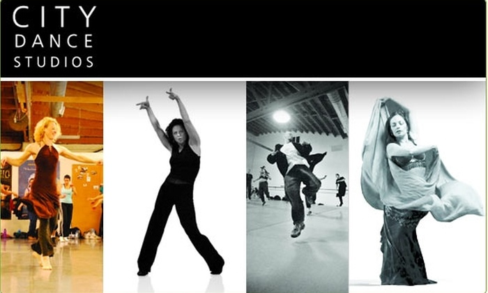 City Dance - SoMa: $12 for Two Dance Classes at City Dance ($24 Value)