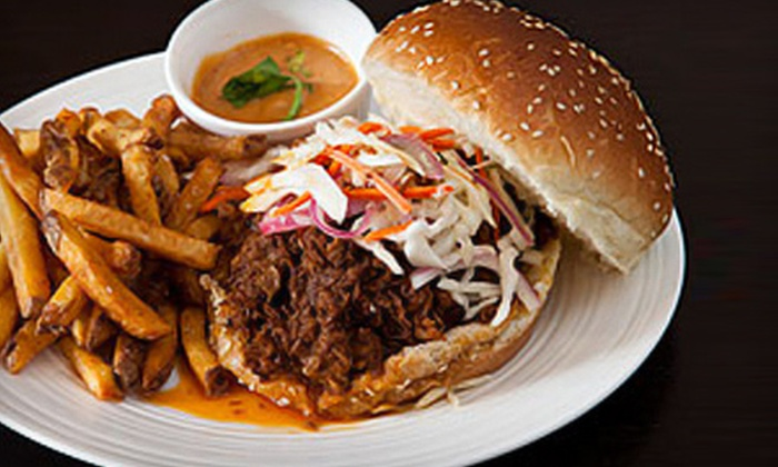 Hank's - Downtown Toronto: Homestyle Canadian Cuisine and Drinks for Dinner, Breakfast, or Lunch at Hank's (Half Off)