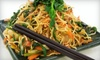 Thai Lotus - Central City: $10 for $20 Worth of Thai Cuisine and Drinks at Thai Lotus