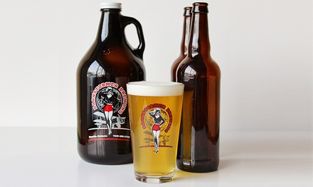 $17.50 for a Brewery-Tour Package with a Tasting Flight at Barnstormer Brewing & Pizzeria ($35 Value)
