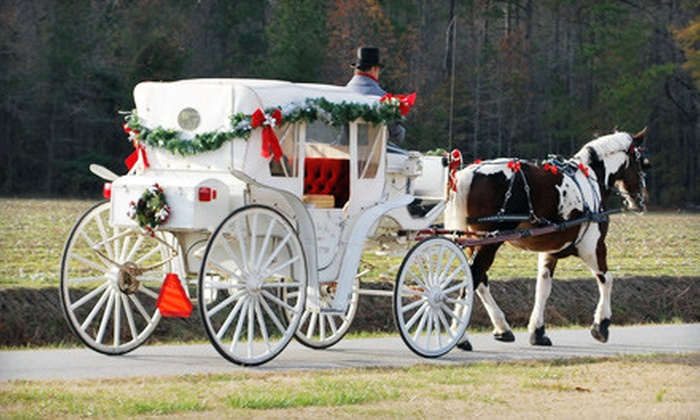 Chariots for Hire - Holy Neck: $89 for a Country Carriage Ride for Two and Light Dinner from Chariots for Hire in Suffolk ($180 Value)