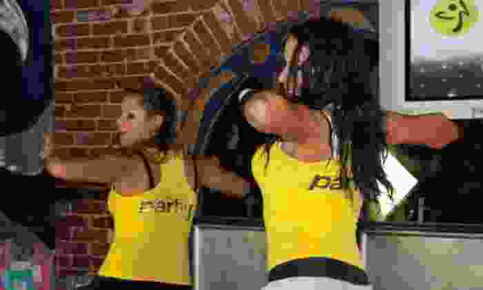 Party Fitness Studio - Grantville: Five Group or Two Private Zumba Classes at Party Fitness Studio (Up to 60% Off)