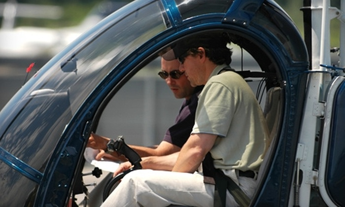 Wings Air - West Harrison: $125 for a Private Helicopter Lesson over New York from Wings Air in White Plains ($197.50 Value)