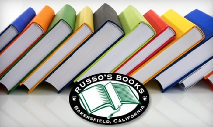 Russo's Books - CSU Bakersfield: $10 for $20 Worth of Books and More at Russo's Books