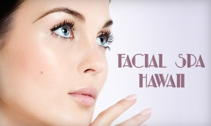 Facial Spa Hawaii - Honolulu: $34 for a 60-minute Dermalogica Face Treatment or $55 for a Deluxe Myotonology Session