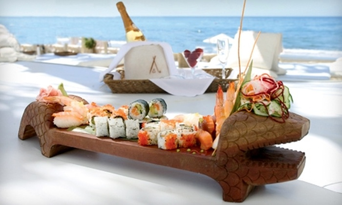 Nikki Beach Miami - South Pointe: $20 for $40 Worth of Upscale Seafood and More at Nikki Beach Miami